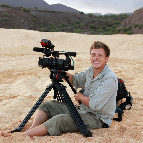Filming Turtles & Frigates on Ascension Island