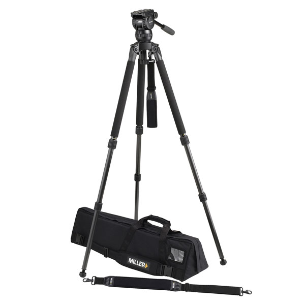 Miller Compass 12 Solo 75 3-Stage Tripod (2010)
